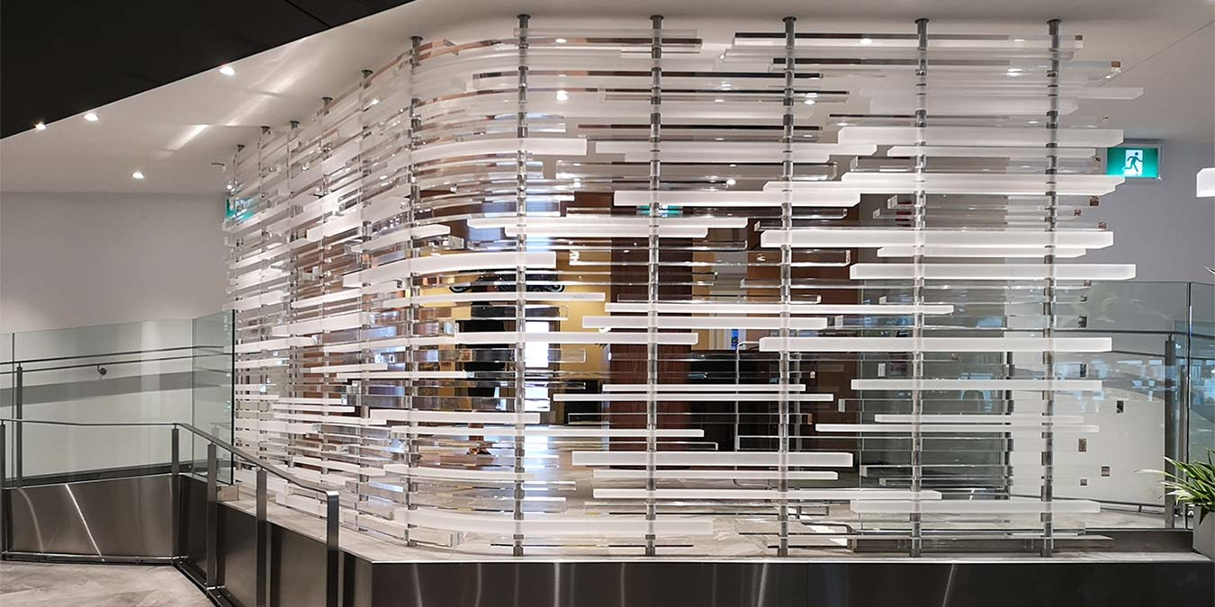 Architectural Acrylic Fabrication